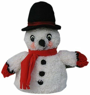 MCG Textiles Huggables Animal Snowman Latch Hook Kit