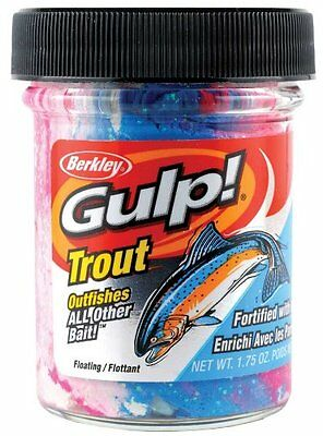 Berkley GDTB2-AP Gulp Trout Dough Bait, American Pie
