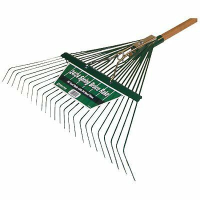 Midwest 40912 Heavy Duty Spring Brace Rake with Handle, 24-Inch
