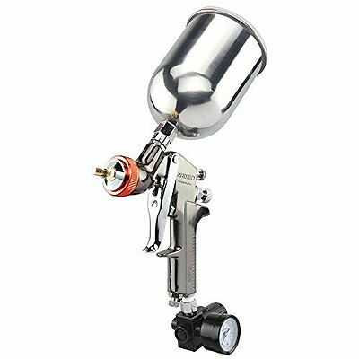 Neiko 2.0mm HVLP Air Spray Gun with Gun Metal Finish - for Heavy Paint/Prim