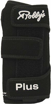 Robby's Coolmax Plus Left Wrist Support, Black, X-Large