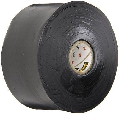 Scotch Linerless Rubber Splicing Tape 130C, 2 Width, 30 Foot Length (Pack o