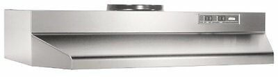 Broan 423004 Under Cabinet Hood, 190 CFM, 30-Inch, Stainless Steel