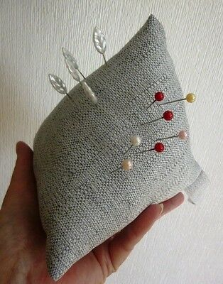 LARGE Pincushion Pin Cushion Pyramid Design SEWERS MUST HAVE Gift BNWT NEW Nw