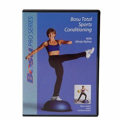 Bosu Total Sports Conditioning DVD with Mindy Mylrea