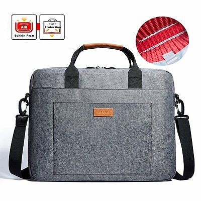 "15"" 15.6'' Notebook Messenger Sleeve Oxford Laptop PC Shoulder Carrying Case Bag"