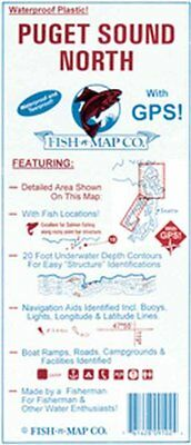 Fish-N-Map Map - Puget Sound North