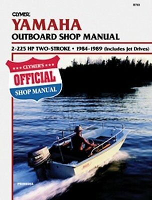 Clymer Yamaha 84 9 2 225 2-Stroke Outboard Manual
