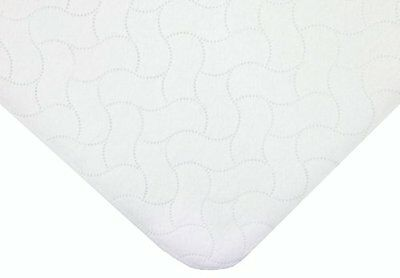 American Baby Company Waterproof Embossed Quilt-like Portable/Mini Protecti