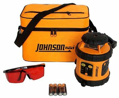 Johnson Level and Tool 40-6515 Self-Leveling Rotary Laser Le