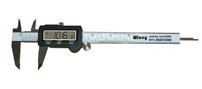 Wixey WR100 6-Inch Digital Calipers with Fractions
