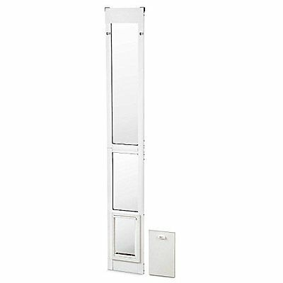 Ideal Pet Products Small White Modular Patio Pet Door