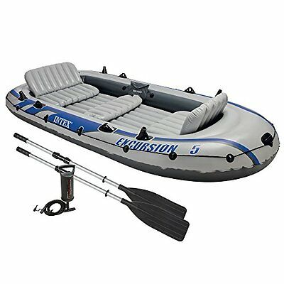 Intex Excursion 5 Boat Set - Old Model