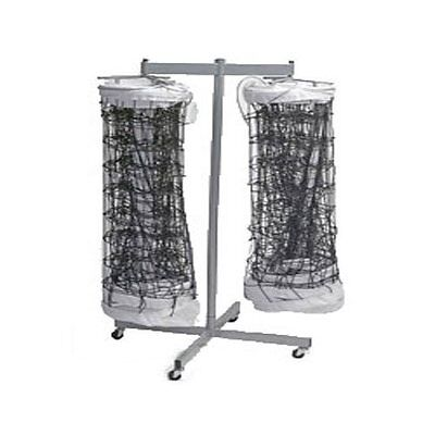 Tandem Sport Double Net Storage Rack (Holds up to 2 Volleyball Nets)