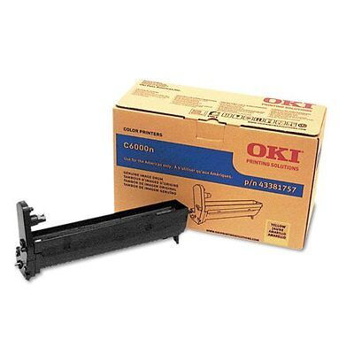 Oki Yellow Image Drum For C6000n and C6000dn Printers - Yellow