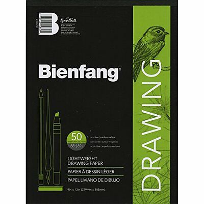 Bienfang Giant 9 by 12-Inch Drawing Paper Pad, 50 Sheets