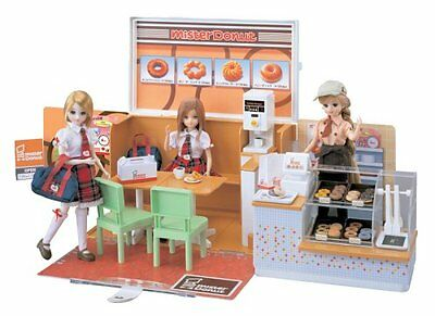 Lica chan Mister Doughnut set (doll not included) [JAPAN]