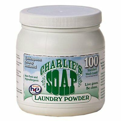 Charlie's Soap - Eco Friendly Laundry Powder - 2.64 lbs - 10