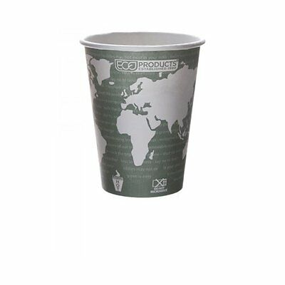 Eco-products Ep-bhc12-wa 12 Oz World Art Hot Cup Case Of 1,0