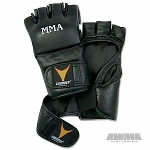 ProForce Thunder Leather MMA Gloves size small