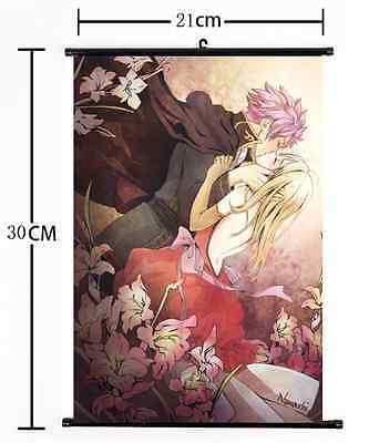 Japan Anime FAIRY TAIL home decor Wall Scroll Poster 1193