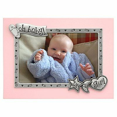 Malden It's A Girl Juvenile Picture Frame in Pink
