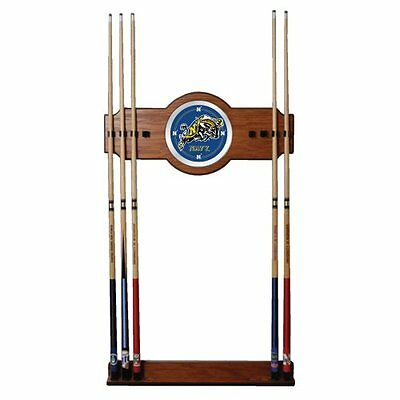 Naval Academy Wood And Mirror Wall Cue Rack
