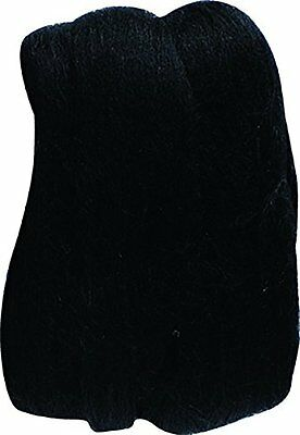 Clover Natural Wool Roving, Black