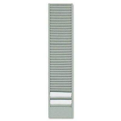 Buddy Products 40 Pocket Badge Card Rack, Steel, Horizontal