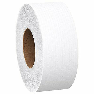 Kimberly-Clark 07805 Scott JRT Jr. Jumbo Roll Tissue, 1000' Length x 3.55 W