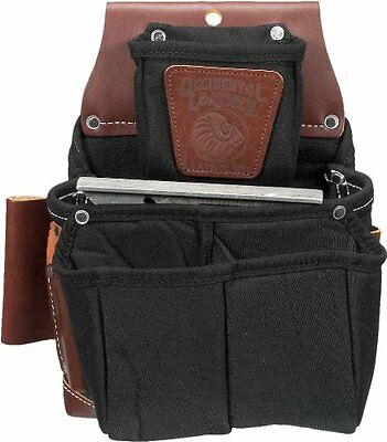 Occidental Leather B8064LH OxyLights Fastener Bag with Doubl