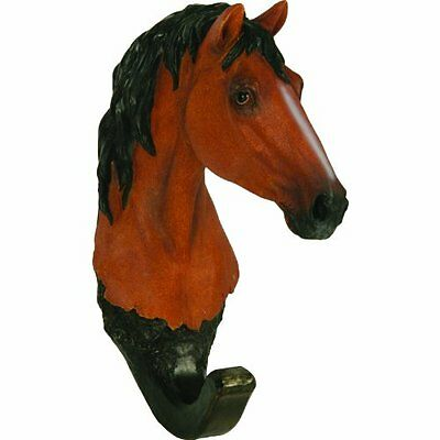 River's Edge Bay Horse Wall Hook, Brown