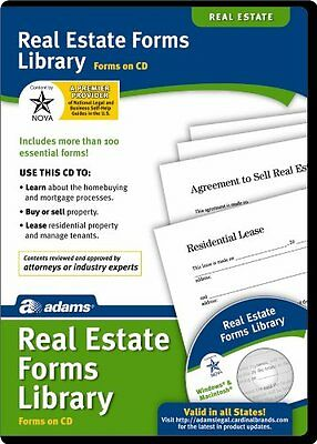 Adams Real Estate Forms Library on CD, White (SS502)