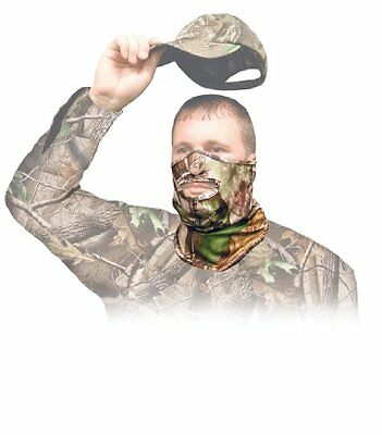Primos Stretch-Fit 1/2 Mask Face Mask - Realtree APG HD