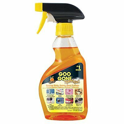 Goo Gone GGHS12 Goo Remover Spray Gel 12 oz, Removes Chewing