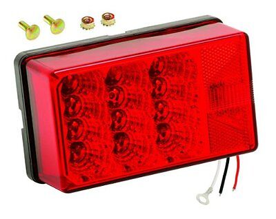Wesbar Waterproof Low Profile 7-Function Right/Curbside 4x6 LED Tail Light