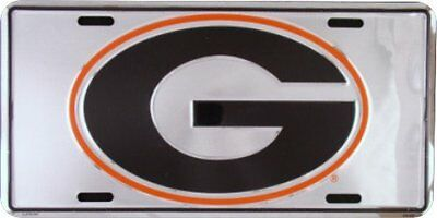 G GEORGIA Super Stock Metal License Plate 6 x 12