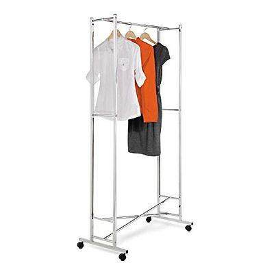 Honey-Can-Do GAR-01268 Deluxe Collapsible Garment Rack on lo