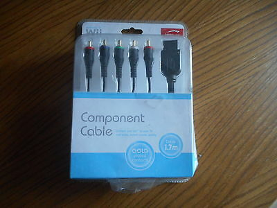 Wii Component Cable Kabel NEU OVP