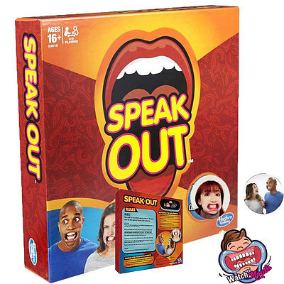 2017 HOT Speak Out Funny Mouthguard Challenge Party Board Game Xmas Gift Toy