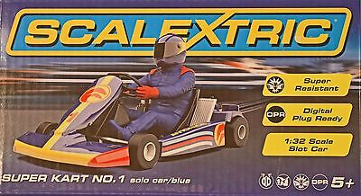 C3668 SCALEXTRIC SUPER KART No1  NEW IN BOXED 1:32 SCALE