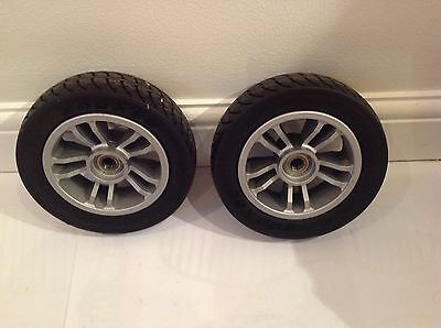 Mobility Scooter Careco Eclipse Wheels and Tyres Front Pair