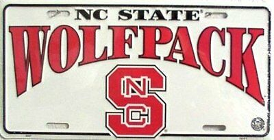 North Carolina State University Wolfpack Collegiate Embossed