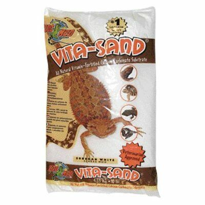 Zoo Med Vita Sand, 5 Pounds, White