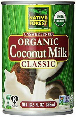 Native Forest Organic Classic Coconut Milk  13.5-Ounce Cans (Pack of 12)