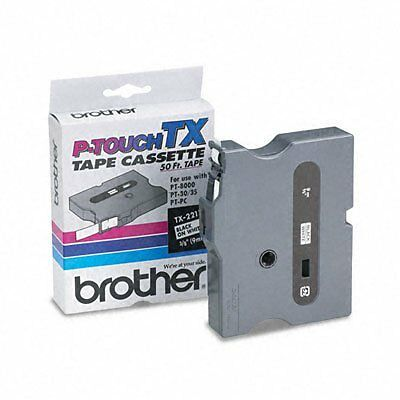 Brother P-Touch TX Laminated Tape(s) - 0.37