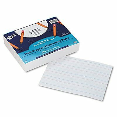 Pacon 2418 Multi-Program Handwriting Paper, 16 lbs., 8 x 10-