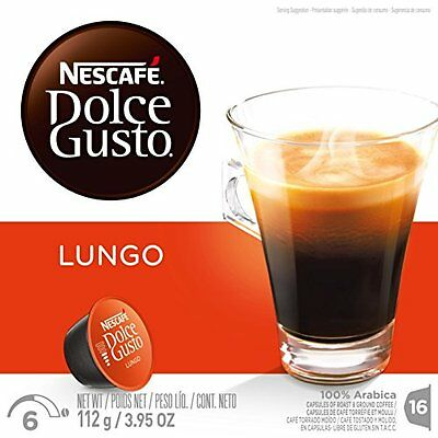 NESCAF‰ Dolce Gusto Single Serve Coffee Capsules - Caff© Lun