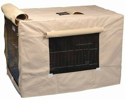 Precision Pet Indoor Outdoor Crate Cover for Size 4000 Crates Tan