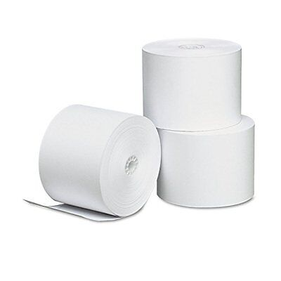 Single-Ply Thermal Paper Rolls 2-1/4 x 165 ft White 3/Pack